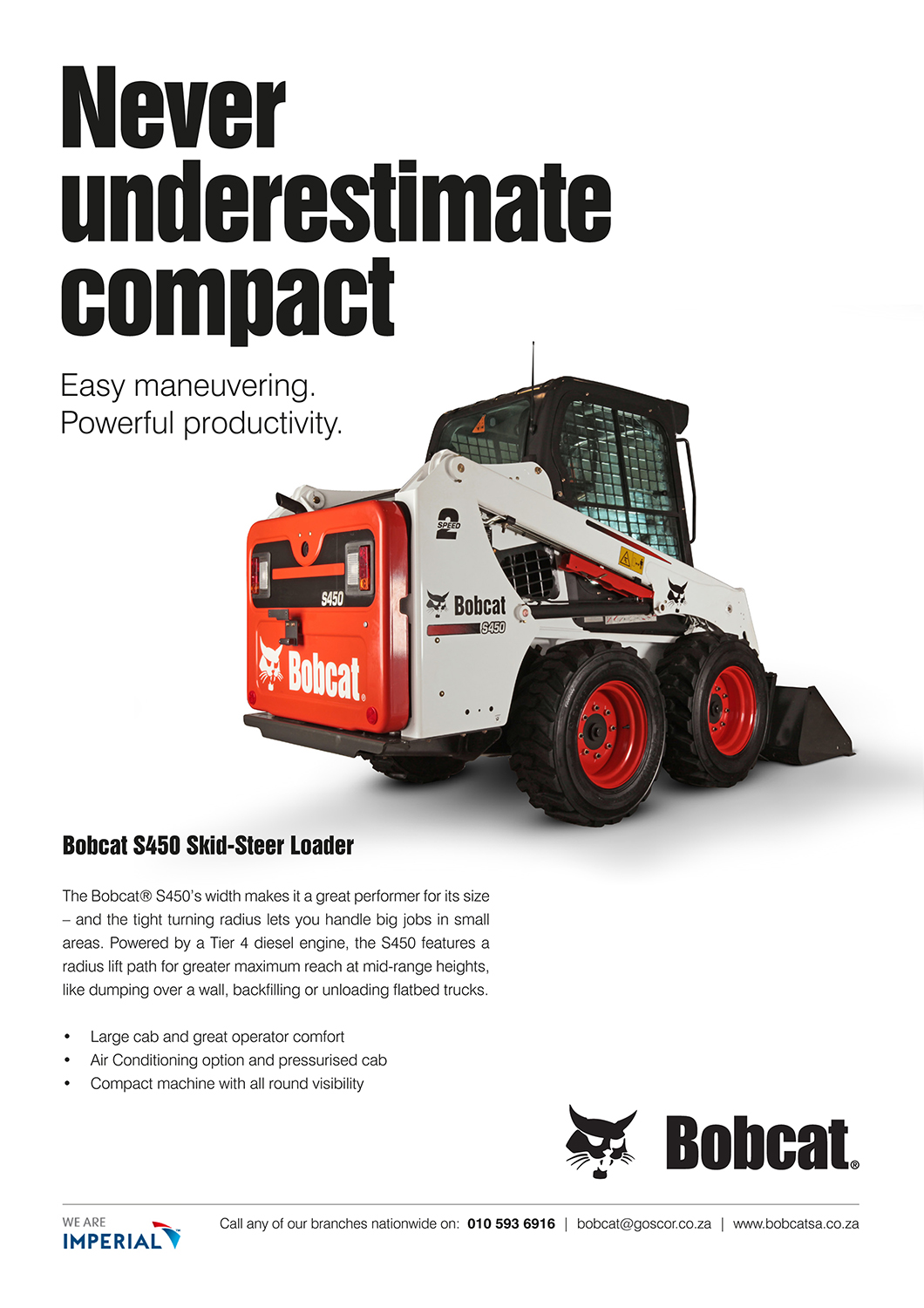 Magazine and Email Advertising for Bobcat